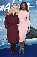 Kristina Rihanoff and Oti Mabuse<br /> at the Cirque du Soleil &quot;Amaluna&quot; 1st night, Royal Albert Hall, Knightsbridge, London.<br /> <br /> <br /> &copy;Ash Knotek  D3218  12/01/2017