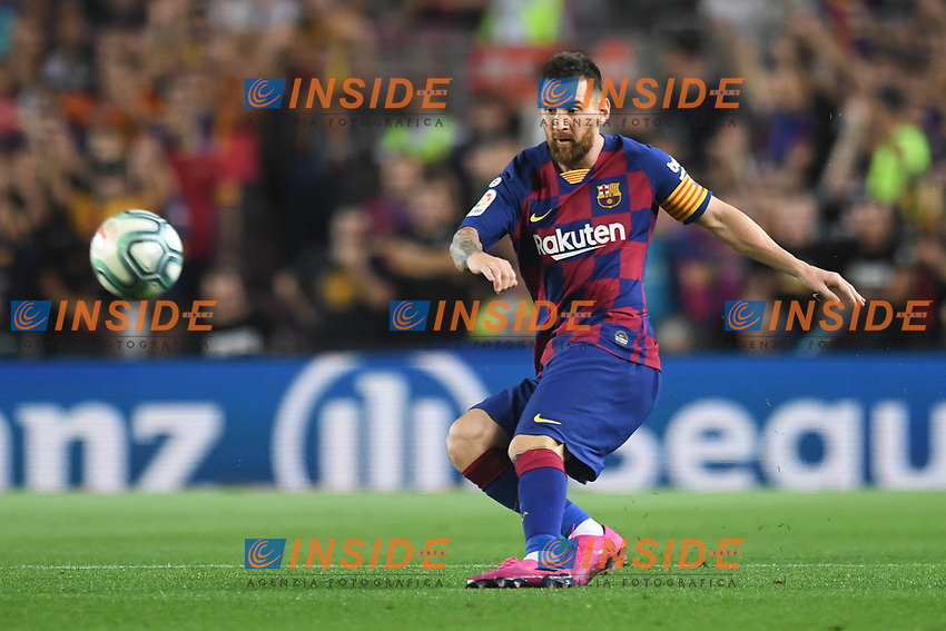 Lionel Messi<br /> <br /> 21/01/2016 <br /> Barcelona - Villarreal <br /> Calcio La Liga 2019/2020 <br /> Photo Paco Largo Panoramic/insidefoto <br /> ITALY ONLY