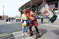 Fans of both clubs mingle outside the stadium before the the Top 14 Final between RC Toulon and Clermont Auvergne  at Stade de France on June 4, 2017 in Paris, France. (Photo by Dave Winter/Icon Sport)