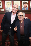 Todd Haimes and Danny DeVito attends the Todd Haimes' Sardi's Caricature Unveiling at Sardi's  on June 7, 2017 in New York City.