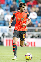 Real Sociedad's Xabi Prieto during La Liga match.January 31,2015. (ALTERPHOTOS/Acero) /NortePhoto<br />