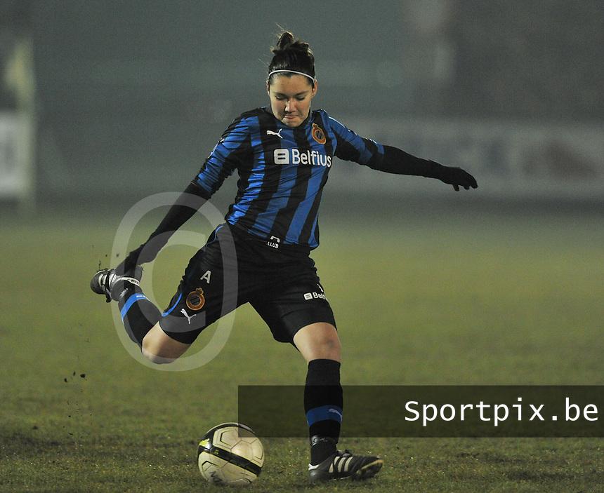 Club Brugge Dames - FC Utrecht : Elien Van Wynendaele.foto DAVID CATRY / Vrouwenteam.be
