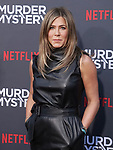 "Jennifer Aniston 062 arrives at the LA Premiere Of Netflix's ""Murder Mystery"" at Regency Village Theatre on June 10, 2019 in Westwood, California"