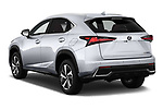 Car pictures of rear three quarter view of 2019 Lexus NX 300h 5 Door SUV Angular Rear