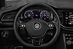 Car pictures of steering wheel view of a 2018 Volkswagen T-Roc Elegance 5 Door SUV
