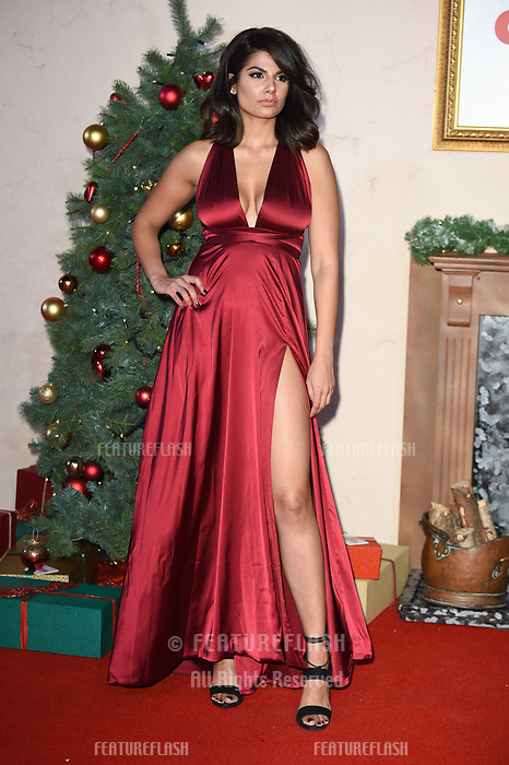 "LONDON, UK. November 21, 2018: Ruby Bhogal at the ""Surviving Christmas with the Relatives"" premiere at the Vue Leicester Square, London.<br /> Picture: Steve Vas/Featureflash"