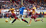 15.12.2019 Motherwell v Rangers: Alfredo Morelos and Declan Gallagher