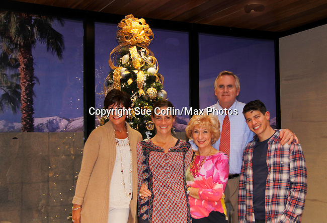 """As The World Turns' Colleen Zenk stars along with the cast - Brenda Withers, Peggy J. Scott, Malachy Cleary and Davy Raphaely in """"Other Desert Cities"""" at the tech rehearsal (in costume) on October 14, 2015 atr Whippoorwill Halll Thetre, North Castle Library, Kent Place, Armonk, New York.  (Photo by Sue Coflin/Max Photos)"""