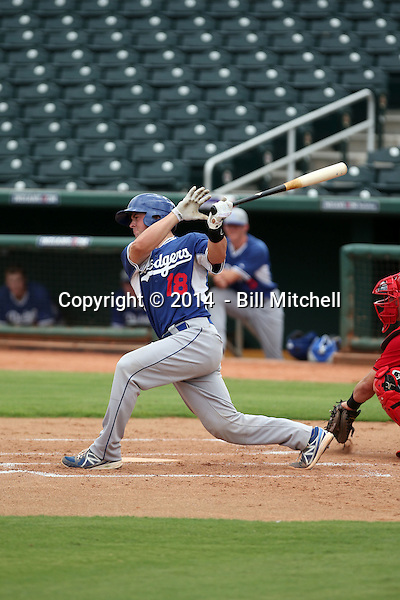 Kyle Farmer - 2014 AIL AIL Dodgers (Bill Mitchell)