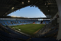 A general view of the Ricoh Arena the home of Coventry City Football Club<br /> <br /> Photographer Mick Walker/CameraSport<br /> <br /> The EFL Sky Bet League One - Coventry City v Fleetwood Town - Tuesday 12th March 2019 - Ricoh Arena - Coventry<br /> <br /> World Copyright &copy; 2019 CameraSport. All rights reserved. 43 Linden Ave. Countesthorpe. Leicester. England. LE8 5PG - Tel: +44 (0) 116 277 4147 - admin@camerasport.com - www.camerasport.com