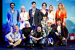 Lucia Gil, Paco Arrojo, Andrea Guasch, Nerea Rodriguez, Ekira Bleda, Antonio Fuentes, Angy Fernandez, Javier Calvo, Alicia Orozco and Javier Ambrossi during presentation of new cast of 'La Llamada' theater show at Teatro Lara in Madrid, Spain. May 24, 2018. (ALTERPHOTOS/Borja B.Hojas)