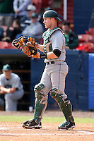 March 23, 2010:  Catcher Brandon Parks (19) of the Dartmouth Big Green during a game at the Chain of Lakes Stadium in Winter Haven, FL.  Photo By Mike Janes/Four Seam Images
