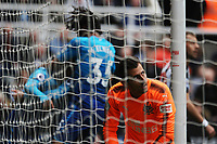 A dejected Martin Dubravka of Newcastle United after Alexandre Lacazette of Arsenal scores the opening goal of the game during Newcastle United vs Arsenal, Premier League Football at St. James' Park on 15th April 2018