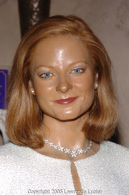 The wax figure of Jodie Foster