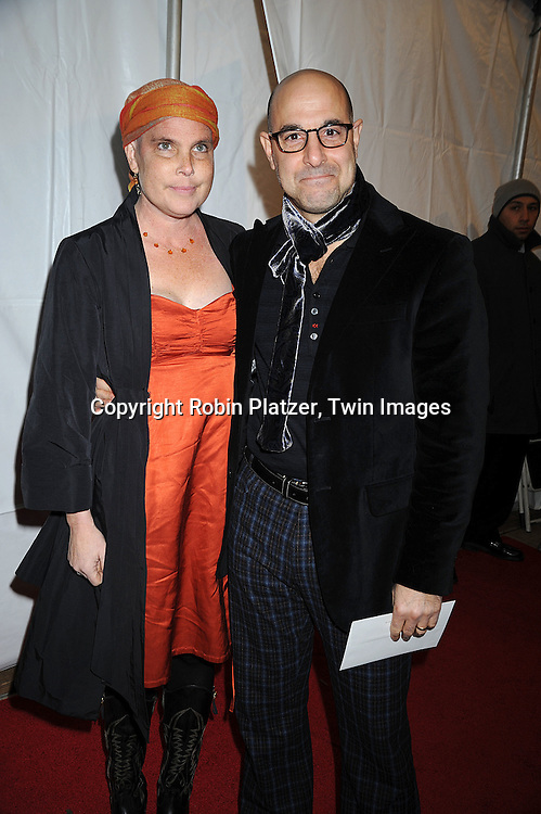"Kate and Stanley Tucci ..attending The New York Premiere of ""Doubt"" starring ..Meryl Streep, Philip Seymour Hoffman, Viola Davis, Amy Adams and written and directed by John Patrick Shanley on December 7, 2008 at The Paris Theatre in New York City.....Robin Platzer, Twin Images"
