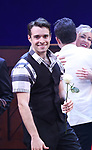 Corey Cott during the Broadway Opening Night Curtain Call Bows of 'Bandstand' at the Bernard B. Jacobs Theatre on 4/26/2017 in New York City.