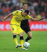 Fussball 1. Bundesliga :  Saison   2011/2012   Liga Total Cup  20.07.2011 Borussia Dortmund - Hamburger SV Damien Le Tallec (li, Borussia Dortmund) gegen Dennis Diekmeier (re, Hamburger SV)
