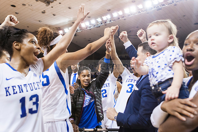 of the Kentucky Wildcats during the game against the South Carolina Gamecocks at Memorial Coliseum on Sunday, March 1, 2015 in Lexington, Ky. Kentucky defeated South Carolina 67-56. Photo by Michael M Reaves | Staff.