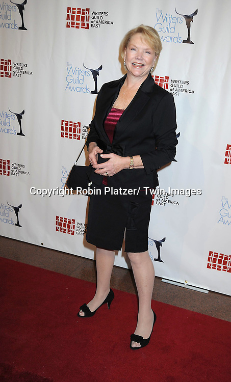 Erika Slezak  attending The 63rd Annual Writers Guild Awards on February 5, 2011 at the AXA Equitable Center in New York City.