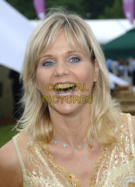 LINDA BARKER.At the opening of Taste Of London, a four day extravaganza to celebrate the best London has to offer in food, drink and entertainment, Regents Park, .London, June 16th 2005..portrait headshot.Ref: PL.www.capitalpictures.com.sales@capitalpictures.com.©Capital Pictures