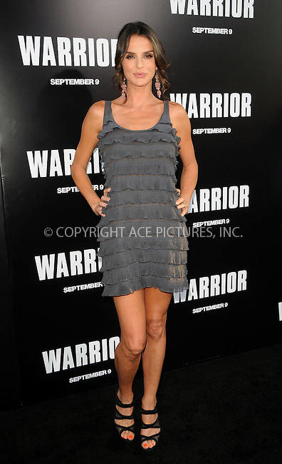 WWW.ACEPIXS.COM . . . . .  ....September 6 2011, LA....Actress Ana Alexander arriving at the premiere of 'Warrior' at the Arclight Hollywood on September 6, 2011 in Hollywood, California.....Please byline: PETER WEST - ACE PICTURES.... *** ***..Ace Pictures, Inc:  ..Philip Vaughan (212) 243-8787 or (646) 679 0430..e-mail: info@acepixs.com..web: http://www.acepixs.com