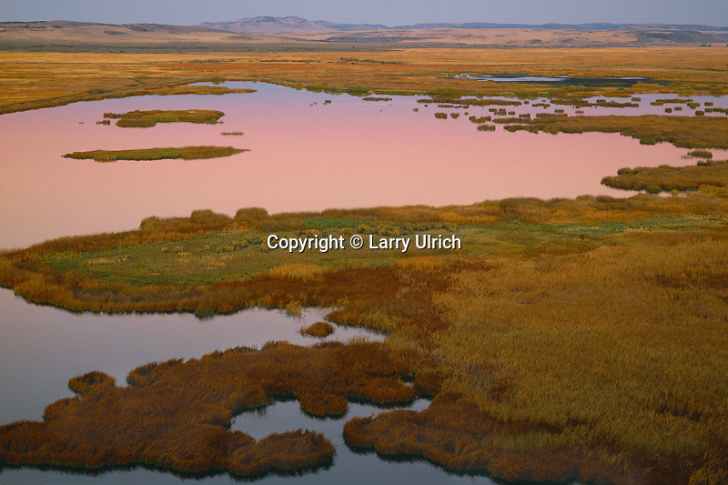 Buena Vista Ponds<br />   from  Buena Vista Viewpoint<br /> Malheur National Wildlife Refuge<br /> High Desert,  Oregon