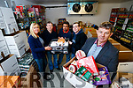 Pictured at the Food Share Kerry, on Monday last, who are preparing Hampers for the Christmas period, l-r: Noreen Locke, Pat Murphy, Yasser Askar, Paddy Kevane and Junior Locke