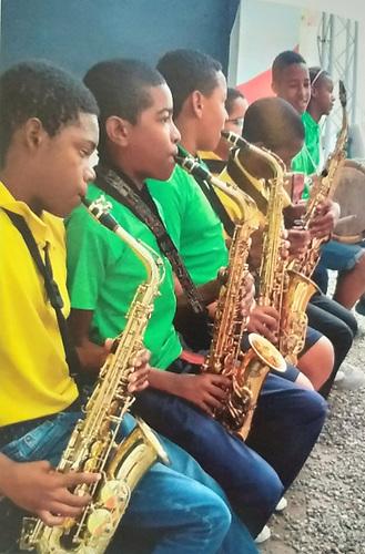 La Orquesta Infantil de Cámara de Haina, el proyecto insignia de la Fundación Refidomsa.