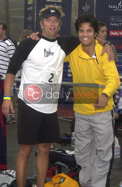 David Chokachi<br /> David Chokachi and Jose Solano