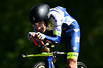 Wanty-Gobert Cycling Team in action during Stage 13 of the 2019 Tour de France an individual time trial running 27.2km from Pau to Pau, France. 19th July 2019.<br /> Picture: ASO/Alex Broadway | Cyclefile<br /> All photos usage must carry mandatory copyright credit (© Cyclefile | ASO/Alex Broadway)