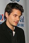 "SAN PEDRO, CA. - March 26: John Mayer arrives at the ""One Splendid Evening"" sponsored by Carnival Cruise Lines and benefiting VH1 Save The Music held on the Carnival Splendor at Port Of Los Angeles on March 26, 2009 in San Pedro, California."