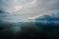 Narrow Passage - Fantastical ice at Planeau Island