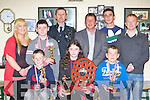 Juveniles from the Sliabh Luachra Boxing club who honoured at the clubs annual awards in Scartaglen Heritage Centre on Saturday front row l-r: TJ Broderick, Kayla Sheahan-Murphy, Paul Browne. Back row: Jennifer O'Sullivan, PJ O'Sullivan, Jerome Foley, Anthony Walsh..