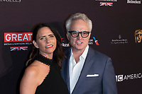 Amy Landecker and Bradley Whitford attend the BAFTA Los Angeles Awards Season Tea Party at Hotel Four Seasons in Beverly Hills, California, USA, on 06 January 2018. Photo: Hubert Boesl - NO WIRE SERVICE - Photo: Hubert Boesl/dpa /MediaPunch ***FOR USA ONLY***
