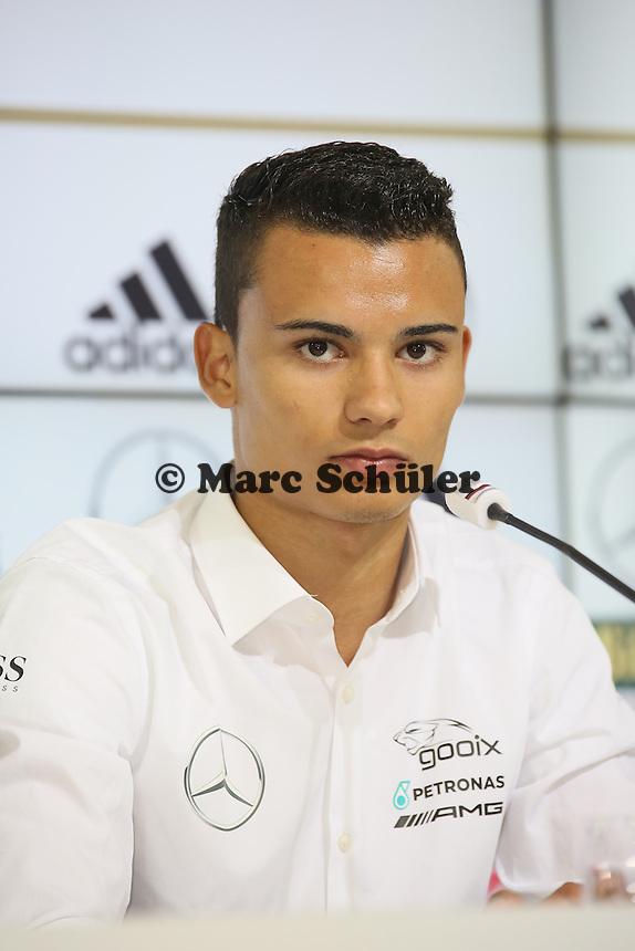Pascal Wehrlein - Pressekonferenz der Deutschen Nationalmannschaft  zur WM-Vorbereitung in St. Martin