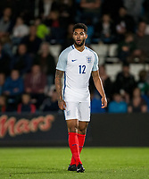Andre Green (Aston Villa) of England U20 during the International friendly match between England U20 and Netherlands U20 at New Bucks Head, Telford, England on 31 August 2017. Photo by Andy Rowland.
