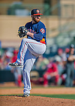4 March 2016: Houston Astros pitcher Jake Buchanan on the mound during a Spring Training pre-season game against the St. Louis Cardinals at Osceola County Stadium in Kissimmee, Florida. The Astros defeated the Cardinals 6-3 in Grapefruit League play. Mandatory Credit: Ed Wolfstein Photo *** RAW (NEF) Image File Available ***