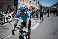 Jakob Fuglsang (DEN/Astana) at the start<br /> <br /> Stage 5: Saint-Dié-des-Vosges to Colmar(175km)<br /> 106th Tour de France 2019 (2.UWT)<br /> <br /> ©kramon