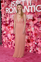 """LOS ANGELES - FEB 11:  Betty Gilpin at the """"Isn't It Romantic"""" World Premiere at the Theatre at Ace Hotel on February 11, 2019 in Los Angeles, CA"""