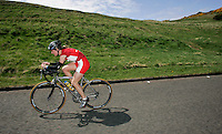 13 MAY 2006 - EDINBURGH, GBR - Helen Lawrence - British Duathlon Championships (PHOTO (C) NIGEL FARROW)
