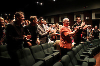 LOS ANGELES - NOV 9: Audience at the special screening of Matt Zarley's 'hopefulROMANTIC' at the American Film Institute on November 9, 2014 in Los Angeles, California