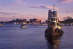 Tugboat in Inner Harbor, Baltimore, Maryland