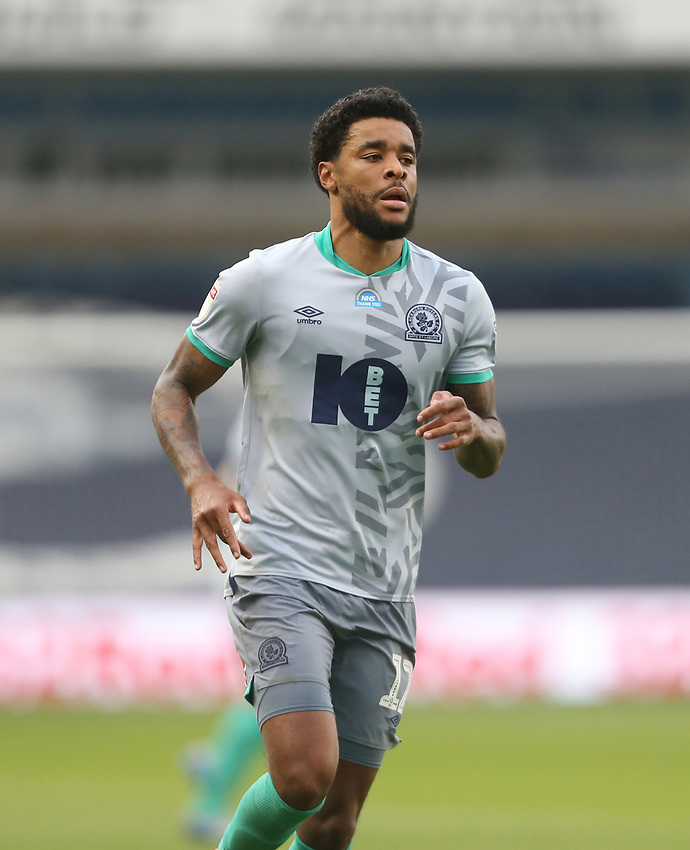 Blackburn Rovers' Dominic Samuel<br /> <br /> Photographer Rob Newell/CameraSport<br /> <br /> The EFL Sky Bet Championship - Millwall v Blackburn Rovers - Tuesday July 14th 2020 - The Den - London<br /> <br /> World Copyright © 2020 CameraSport. All rights reserved. 43 Linden Ave. Countesthorpe. Leicester. England. LE8 5PG - Tel: +44 (0) 116 277 4147 - admin@camerasport.com - www.camerasport.com