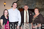 Claire Pohl, John O'Keeffe, David and Margaret Griffin Killorglin at the Killorglin Rowing Club social in the Killarney Heights Hotel on Saturday night   Copyright Kerry's Eye 2008