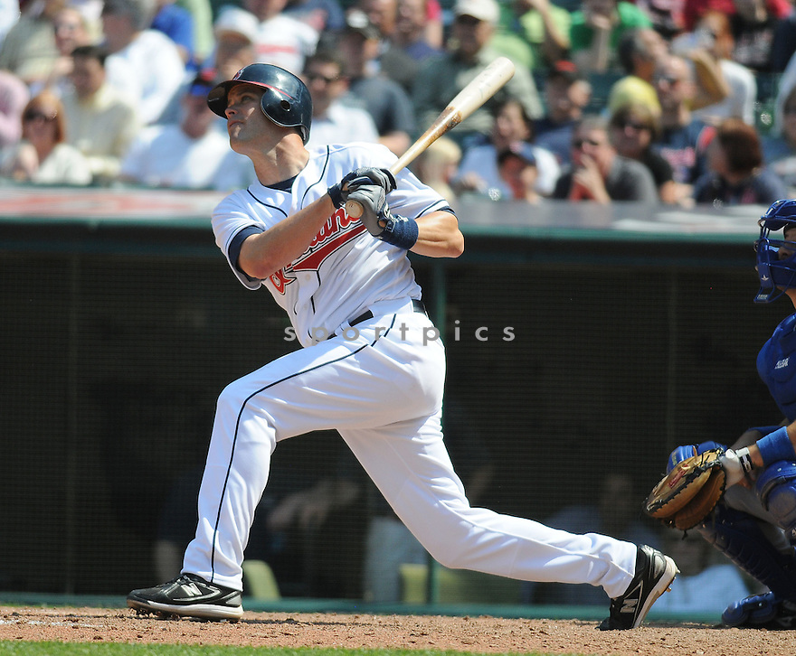 MARK GRUDZIELANEK, of the Cleveland Indians , in action during the Indians game against the Texas Rangers at Progressive Field in Cleveland, Ohio  on April 15, 2010...The Indians win 3-2