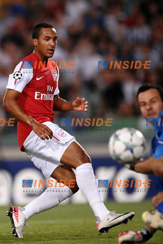 "Theo WALCOTT Arsenal.Udine 24/8/2011 Stadio ""Friuli"".Football Calcio Champions League.Udinese Vs Arsenal.Foto Insidefoto Andrea Staccioli"