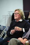 """Peter Noone during the Sneak Peak presentation of the World Premiere production of """"My Very Own British Invasion"""" on January 16, 2019 at the Church of Saint Paul The Apostle in New York City."""