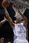 16 November 2014: North Carolina's Brice Johnson. The University of North Carolina Tar Heels played the Robert Morris University Colonials in an NCAA Division I Men's basketball game at the Dean E. Smith Center in Chapel Hill, North Carolina. UNC won the game 103-59.