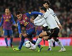 Fussball Copa Del Rey Semifinale 2011/12: FC Barcelona - FC Valencia