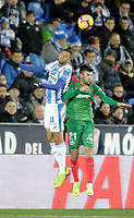 CD Leganes' Youssef En-Nesyri and Deportivo Alaves' Martin Aguirregabiria (R) during La Liga match. November 23,2018. (ALTERPHOTOS/Alconada) /NortePhoto.com